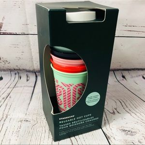 Starbucks Holiday 2020 Colour changing Cups x 6